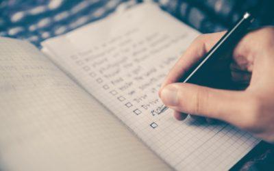 Die To-Do Liste der Selbstständigkeit